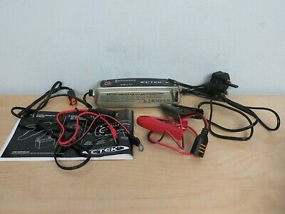 CTEK MXS 5.0 Battery charger Missing Carry Bag  inc VAT