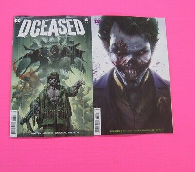 DCEASED # 4 COMIC Main & Mattina Variant DC 2019 2 LOT Batman