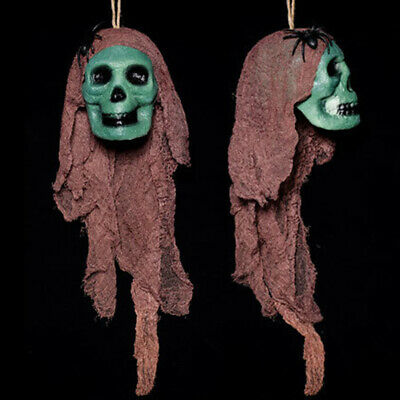 Horror Kleid Garn Totenkopf Requisite Halloween Skelett Wandbehang Simulation