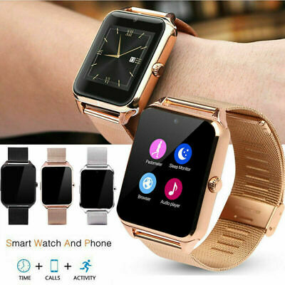 Bluetooth GSM SIM Smart Watch Z60 For Android IOS Phone Mate Camera Touch Screen