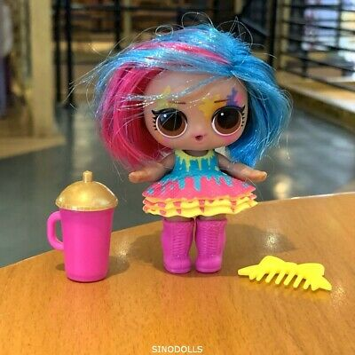 with dress Lol Surprise Splatters Hairgoals Makeover Series Hairspray Doll