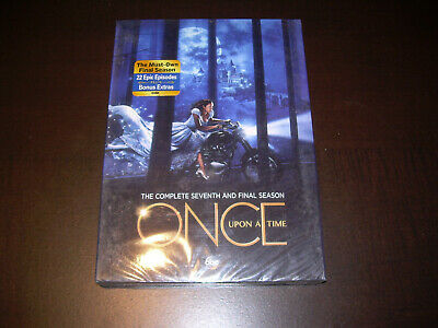 The Complete Seventh & FINAL Season 7 Seven NEW Sealed ONCE UPON A TIME DVD 2018