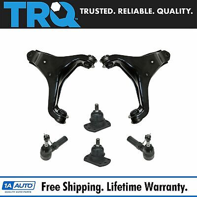 TRQ Front Control Arm Ball Joint Tie Rod End Suspension Kit for BMW 3 Series E36