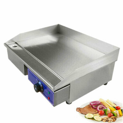 Commercial Electric Griddle Restaurant Flat Top 3000W Grill Catering Hotplate