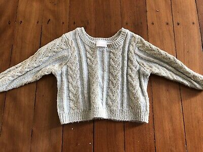 Kardashian Baby Jumper Grey and gold trim Sz 0