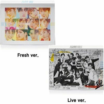THE BOYZ [THE FIRST] Mini Album (Random Ver) CD+Photobook+15p Card+Sticker K-POP
