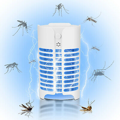 Electric UV Mosquito Killer Insect Fly Bug Pest Plug in Trap Zapper Lamp Light