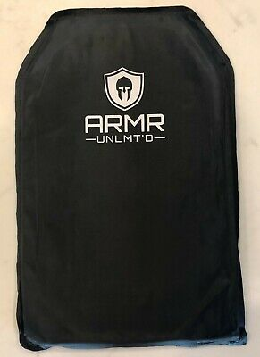 Bulletproof Backpack Insert Panel Shield Lightweight Body Armor Level IIIA