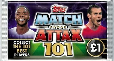 CHOOSE Your Match Attax 101 2018/19 100 CLUB World Star #138-192 MINT! MESSI!