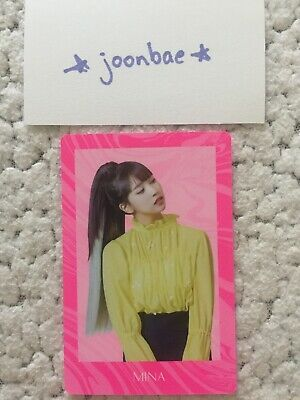 TWICE FANCY YOU Preorder Official Photocard Mina