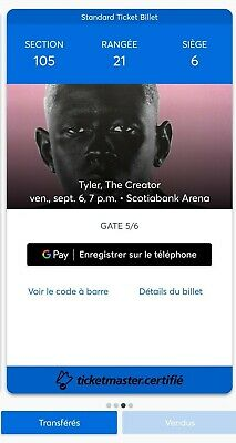 2 Tyler The Creator Tickets (Section 105)