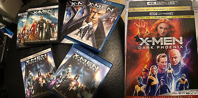 BN X-Men 4K Or Blu-Ray & Case or BluRay Disc ONLY You Choose Marvel Trilogy