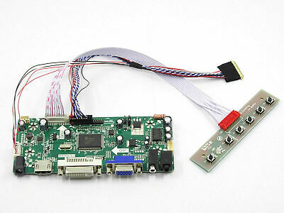 HDMI+DVI+VGA LCD Controller Board Kit for BT156GW01 N156BGE-L21 LTN156AT17