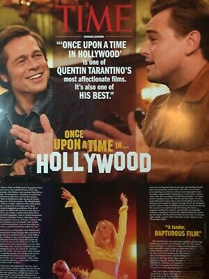 Once Upon A Time In Hollywood Poster - Quentin Tarantino Memorabilia