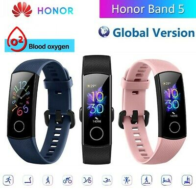 Huawei HONOR Band 5 BT Smart Armband 5ATM AMOLED Sleep Data Global Version L1Z7