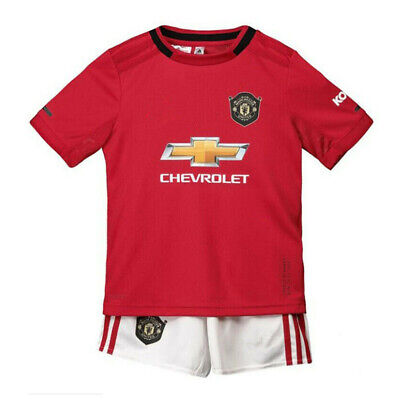 19-20 Soccer Suits Football Kits Training Shirts Clothes For Kids Boys 3-14Yrs