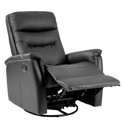 Admirable Bonded Leather Recliner Armchair Stud Sofa Home Lounge Pdpeps Interior Chair Design Pdpepsorg