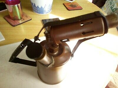 Paraffin Blow Lamp British Monitor No 26 A Vintage Blowlamp Collectibile Tools
