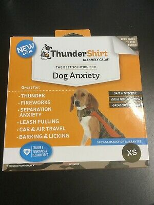 ThunderShirt Insanely Calm Dog Anxiety Camo Size XS (NEW) #1820