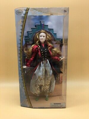 Disney Alice Through The Looking Glass  - Alice New Doll In Box !