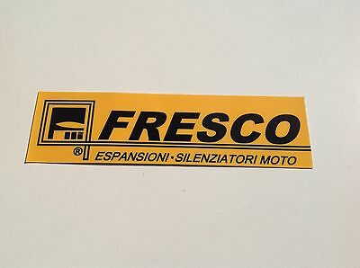 Yamaha DT50 DT125 DT175 DT250 DT400 MX FRESCO exhaust tailpipe sticker decal