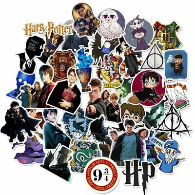 30PCS Pack Harry Potter cartoon Stickers Set Laptop Stationery Anime Stickers