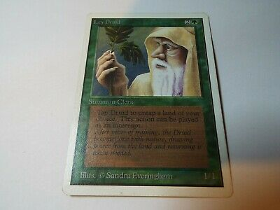 MAGIC THE GATHERING UNLIMITED CARD LEY DRUID, ex