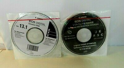 CANON EOS DIGITAL Solution Disk Version 28 5 For Windows