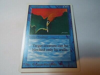 MAGIC THE GATHERING UNLIMITED CARD INVISIBILITY ex