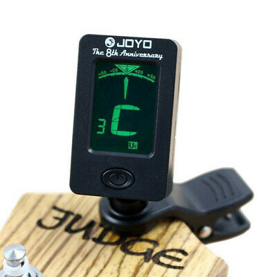 LCD Clip-on Electronic Digital Chromatic Tuner for Bass, Guitar, Violin,Ukulele
