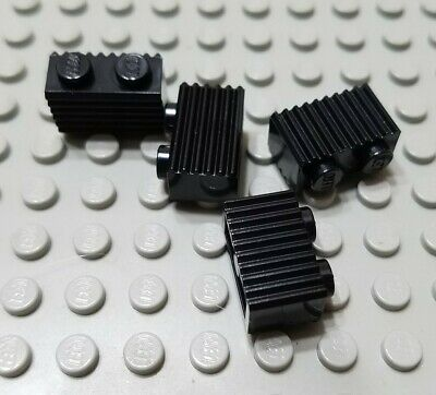 LEGO Lot of 4 White 1x2 Creator Door Rail Specialty Plate Parts and Pieces