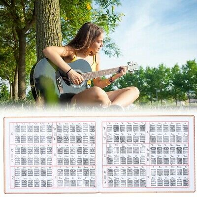 Professional Guitar Chord & Scale Chart Poster Tool for Acoustic/Electric Guitar
