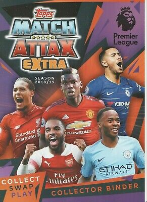 Match Attax Extra 2018/19 Man Of The Match Hat Trick Hero 100 Club Pick Cards