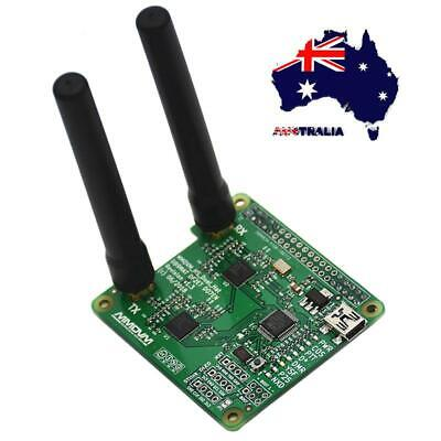 AU Duplex MMDVM Hotspot Support P25 DMR YSF for Raspberry Pi + 2pcs Antenna Set