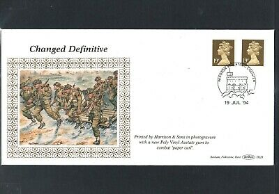 GB Machin FDC 19/7/94 Changed Defins 19p ,P/M Windsor Philatelic Counter