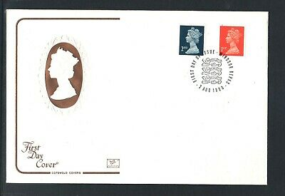 GB Machin FDC 7/8/90 Changed Defins 1st + 2nd P/M Windsor Berks  (2 )