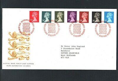 GB Machin FDC 26/9/89 New Defins 15p 1S/band Others ACP  P/M Windsor Berks ( 2 )
