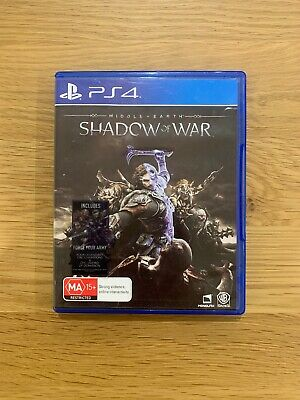 Middle-Earth Shadow Of War Sony Playstation 4 PS4 PAL