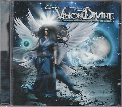 VISION DIVINE - a degrees west of the moon CD