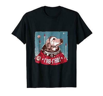 USSR Russia space dogs. Belka and Strelka cosmonaut shirt