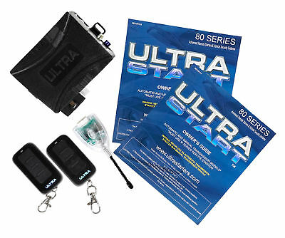 Ultrastart U1280-PRO 2800 Ft Car Remote Start Starter Keyless Entry/Metal Remote