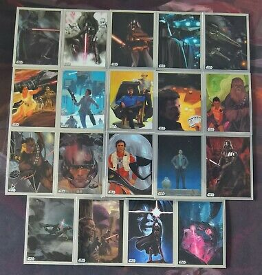 2019 Topps Star Wars Chrome Legacy MARVEL COMIC COVERS Inserts (Pick Your Own)