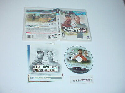 TIGER WOODS PGA TOUR 14 game complete in case w/ manual - Sony Playstation 3 PS3
