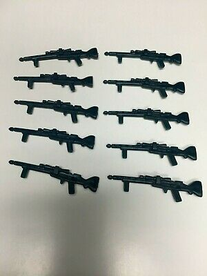 Star Wars Vintage HOTH RIFLE Genuine Weapon lot of 10  Snowtrooper 1980 ORIGINAL