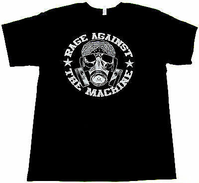 Brand New Rage Against The Machine T-shirt Adult Men Tee Black Rock Band Tee