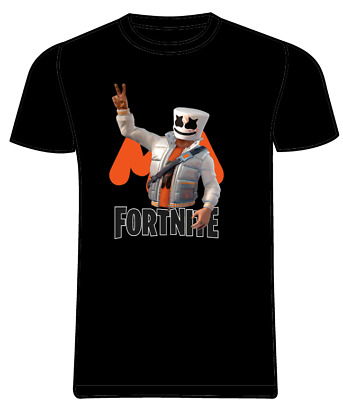 ORANGE MARSHMELLOW Fornite T shirt Youth Kids and Adult TEE S-3XL DJ MUSIC :)