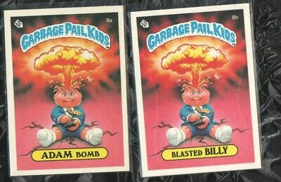 Gpk Garbage Pail Kids Series Os Adam Bomb Blasted Billy Centered Nm/Mt+