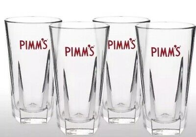 Pimm's Tall Glasses With Stirrers