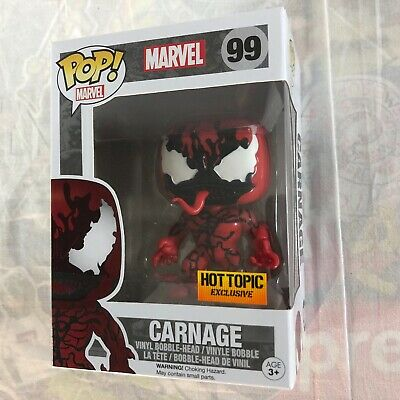 Funko Pop! Marvel CARNAGE #99 Hot Topic Exclusive Limited NEW