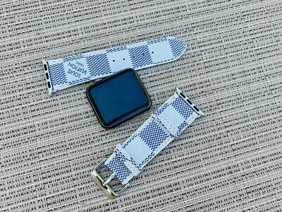 USA SELLER Gucci Louis Vuitton Apple Watch Band Leather iWatch Strap 38/40/42/44